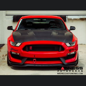 Ford Shelby GT350 Mustang Carbon Fiber Hood - Dry