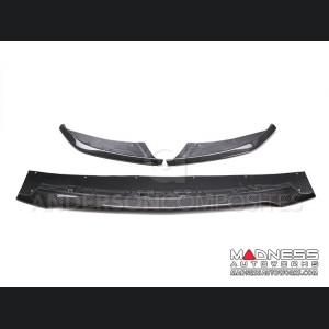 Ford Shelby GT350 Mustang Carbon Fiber Front Splitter - 3 Piece