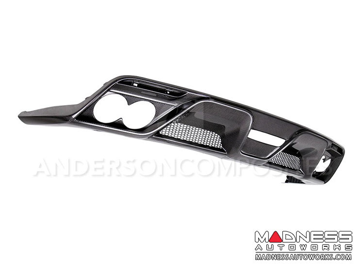 Ford Shelby GT350 Mustang Carbon Fiber Rear Diffuser