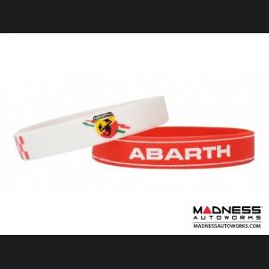 ABARTH Silicone Bracelet 2/pk