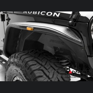 Jeep Wrangler JL Inner Fender Liners - Front - Carbide Black Powdercoat