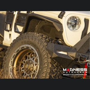Jeep Wrangler JL Fender Flares - Front - Textured Black Powdercoat