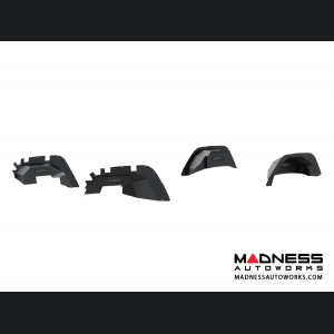 Jeep Wrangler JL Inner Fender Liners - Front & Rear - Carbide Black Powdercoat