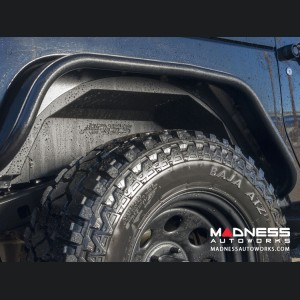 Jeep Wrangler JL Inner Fender Liners - Rear - Carbide Black Powdercoat