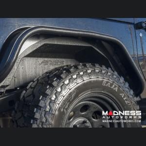 Jeep Wrangler JL Inner Fender Liners - Front & Rear - Carbide Black Powdercoat