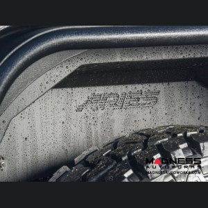 Jeep Wrangler JL Inner Fender Liners - Rear - Carbide Black Powdercoat