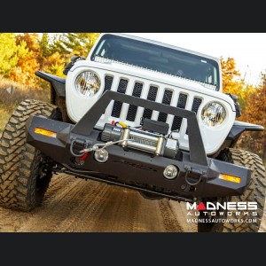 Jeep Wrangler JL Trailchaser Bumper - Front - Option 9 - Carbon Steel