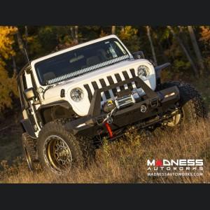 Jeep Wrangler JL Trailchaser Bumper - Front - Option 9 - Carbon Steel