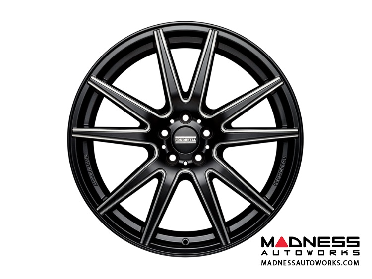Audi A5 Custom Wheels by Fondmetal - Black Milled