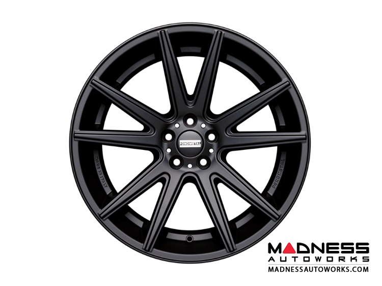 Audi A5 Custom Wheels by Fondmetal - Matte Black