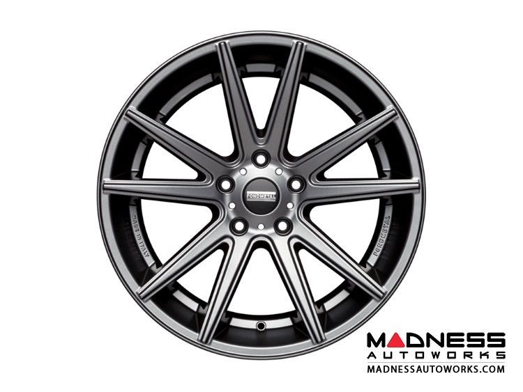 Audi A5 Custom Wheels by Fondmetal - Matte Titanium