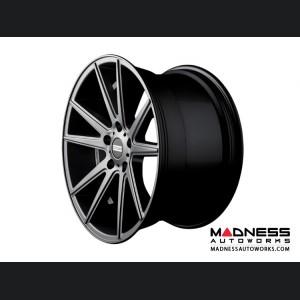 Audi A4 Custom Wheels by Fondmetal - Matte Titanium