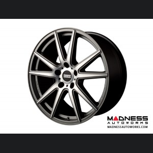 Audi A4 Custom Wheels by Fondmetal - Matte Titanium Machined