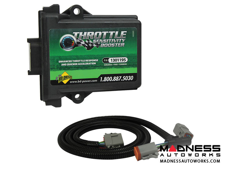 Dodge Throttle Sensitivity Booster by BD Diesel