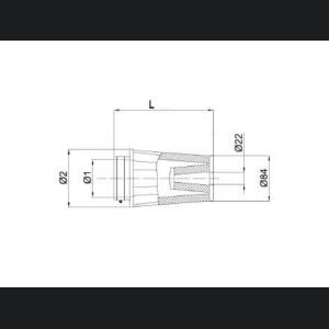 "BMC Intake Replacement Filter - 50mm/ 1.97"" - FBTS50-150P"