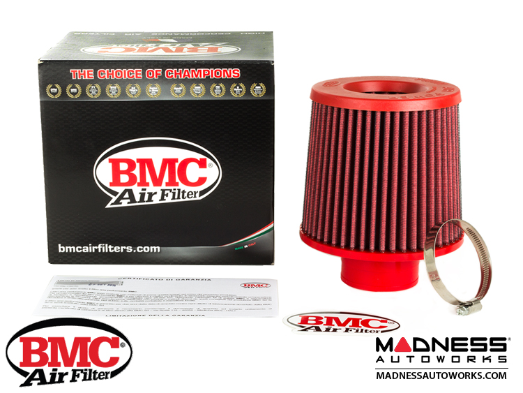 "BMC Intake Replacement Filter - 63mm/ 2.5"" - FBTW63-140P"