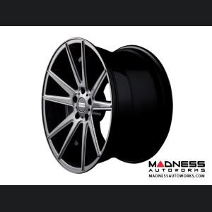 BMW 3 Series Custom Wheels by Fondmetal - Gloss Titanium Milled
