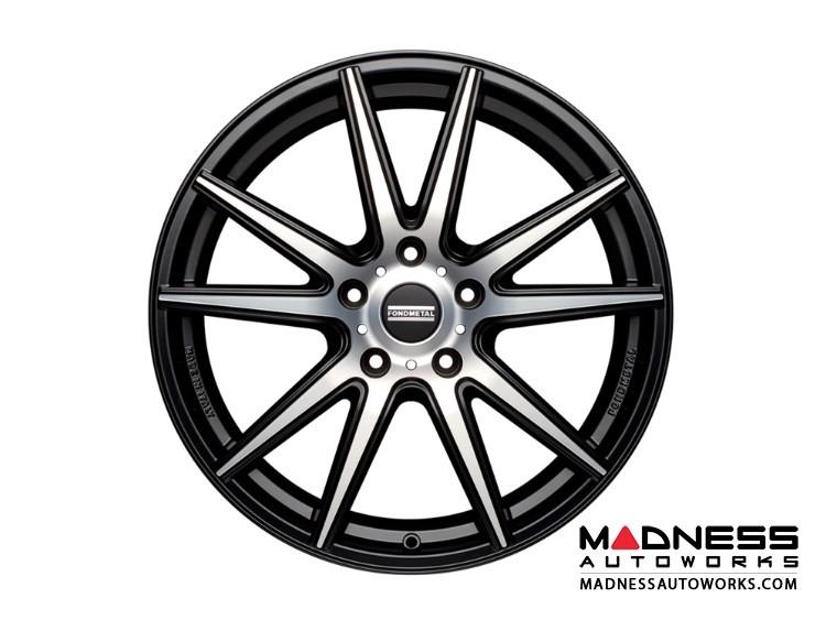 BMW 3 Series Custom Wheels by Fondmetal - Matte Black Machined