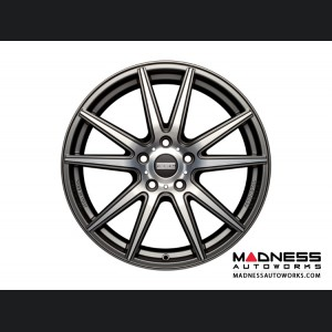 BMW 1 Series Custom Wheels by Fondmetal - Matte Titanium Machined