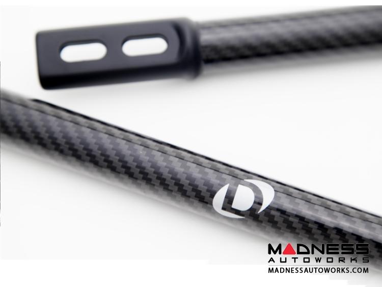 BMW M3 E90/ E92/ E93 Carbon Fiber Strut Tower Braces by Dinan