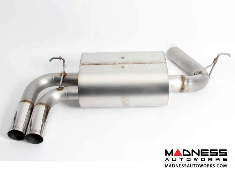BMW 428i F32/ F33 Performance Exhaust by Dinan - Polished Dual Tips