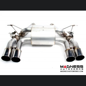 BMW M3 F80 Performance Exhaust by Dinan - Polished Quad Tips