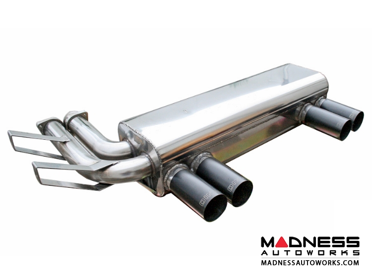 how to clean dinan exhaust tips