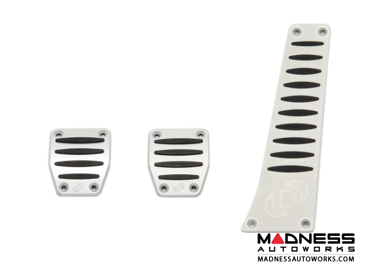 BMW Alumnium Pedal Cover Set by Dinan - Manual Transmission