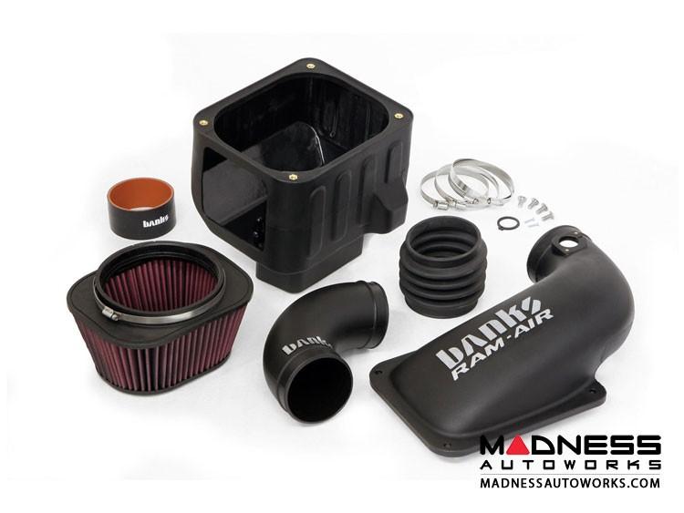 Chevrolet Silverado 6.6L Duramax Ram Air System by Banks Power - Oiled Filter