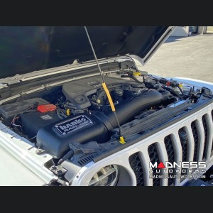 Jeep Wrangler JL 3.6L V6 Performance Air Intake - Ram-Air - Dry Filter by Banks Power