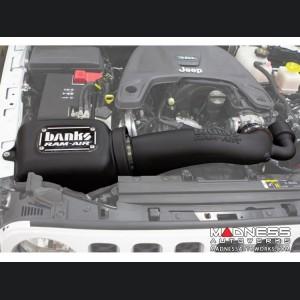 Jeep Wrangler JL 3.6L V6 Performance Air Intake - Ram-Air - Dry Filter by Banks Power