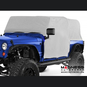 Jeep Wrangler Unlimited Canopy Cover by Bestop - Charcoal