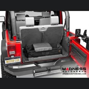 Jeep Wrangler Instatrunk Modular Kit by Bestop - Matte Black - 2007-2010 (2 dr/ 4 dr)
