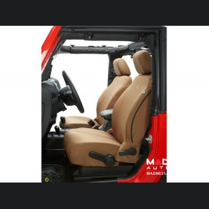Jeep Wrangler JK Front Seat Covers by Bestop - Tan (2 dr/ 4dr)
