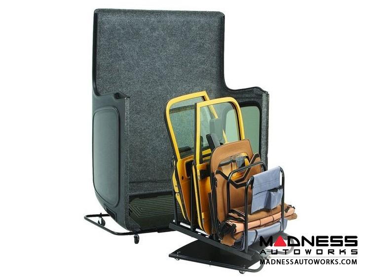 Jeep Wrangler Hoss Hardtop and Door Cart by Bestop - Black (2 dr/ 4 dr)