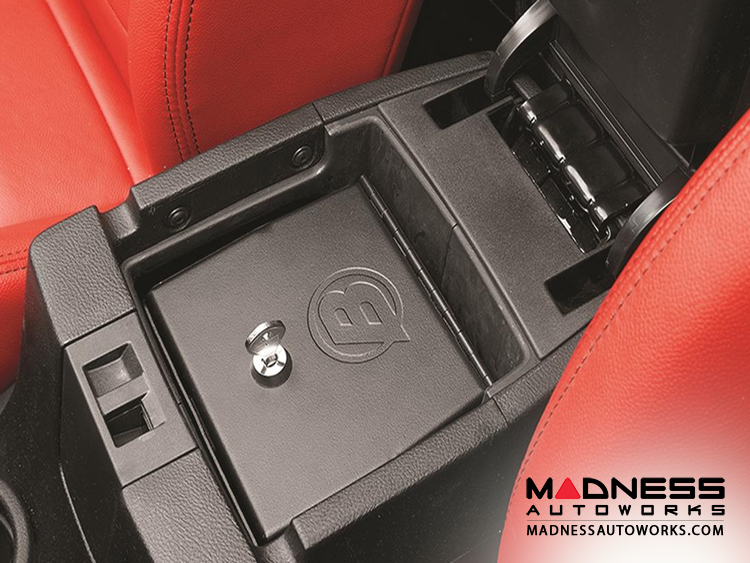Jeep Wrangler JK Center Console Storage Lock Box by Bestop - Black - 2011-2015 - (2dr/ 4dr)
