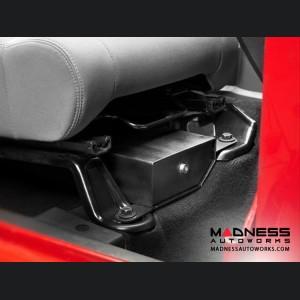 Jeep Wrangler Unlimited Passenger Under Seat Storage Lock Box by Bestop - Black - 2007-2015 - (2 Door)