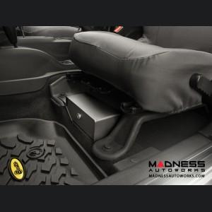 Jeep Wrangler JK Under Seat Storage Lock Box by Bestop - Black - 2007-2010 - 2 Door