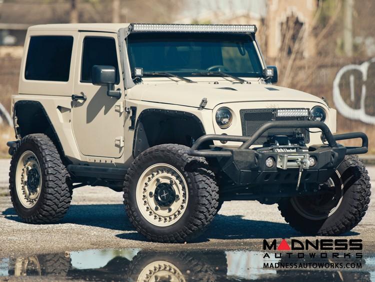 "Jeep Wrangler JL Custom Wheels by Black Rhino - 17 x 9.5"" - Armory - Desert Sand"