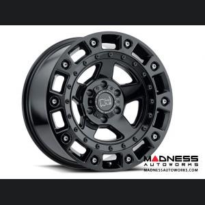 Jeep Wrangler JL Custom Wheels by Black Rhino - 17 x 9.5 - Cinco - Gloss Black w/ Stainless Bolt