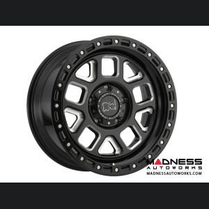 "Black Rhino Alpine Wheels - Gloss Black w/Milled Spokes - 5x127"""