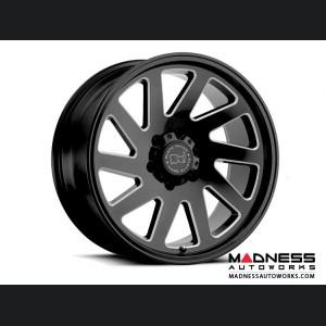 Jeep Wrangler JL Custom Wheels by Black Rhino - 20 x 9.5 - Thrust - Gloss Black w/ Milled Spokes