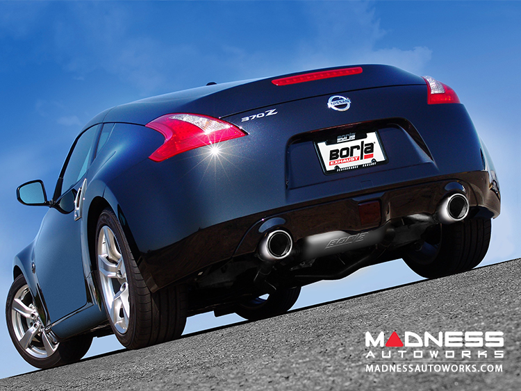 Nissan 370Z - Performance Exhaust by Borla - Cat-Back Exhaust - S-Type (2009-2014)