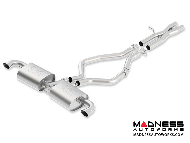 Audi TTRS Quattro 2.5L Performance Exhaust by Borla - Cat-Back Exhaust - ATAK (2012-2013) MT