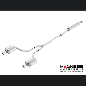 Nissan Altima Sedan - Performance Exhaust by Borla - Cat-Back Exhaust - Touring (2007-2012)