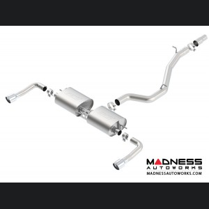 Audi A3 Quattro 2.0L Performance Exhaust by Borla - Cat-Back Exhaust - S-Type (2014-2016)