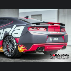 Chevrolet Camaro SS Performance Dual Mode Exhaust System by Borla - Axle-Back Exhaust w/ Dual Tips - ATAK (2016 - 2017) #11921CF