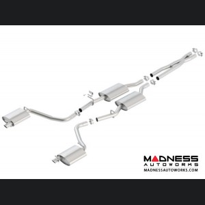 Dodge Charger 3.6L V6 - Performance Exhaust by Borla - Cat-Back Exhaust - S-Type (2015-)