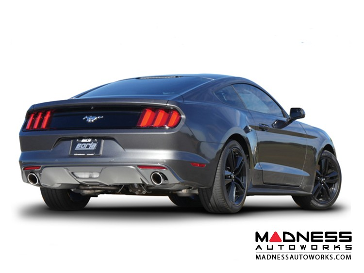 Ford Mustang V6 - Performance Exhaust by Borla - Cat-Back Exhaust - ATAK (2015)