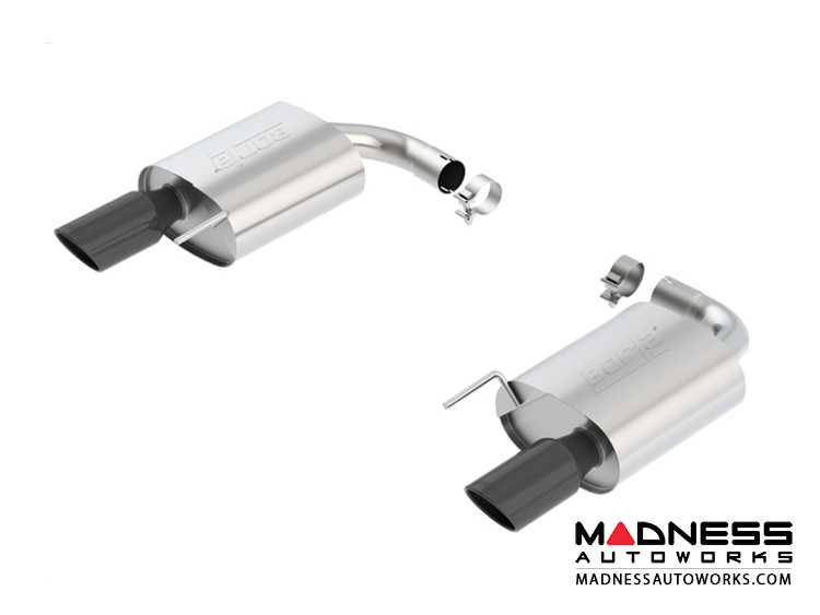 Ford Mustang GT - Performance Exhaust by Borla - Rear Section Exhaust - S-Type (2015)